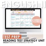 English II STAAR/EOC Reading Test Prep Strategy Four Week Unit