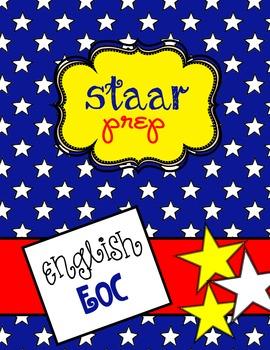 Lesson Plan English II STAAR EOC Single Selection SAR Scor