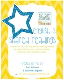 English II Shared Reading Guided Lessons