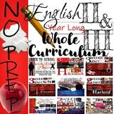 English II and English III Whole Year Curriculum