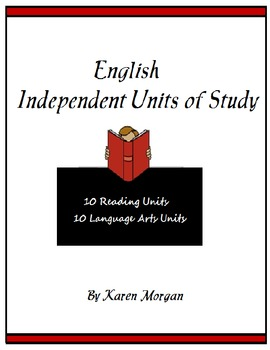 English Independent Units of Study