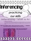 English - Inferencing Practice for high school