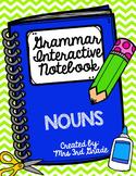 English Interactive Notebook - Nouns