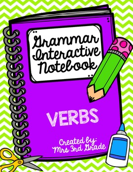 English Interactive Notebook - Verbs