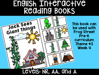 English Interactive Reading Books Can Be Used With Frog Street