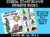 Make-Believe Giants Eng. Interactive Reading Books Can Be Used With Frog Street
