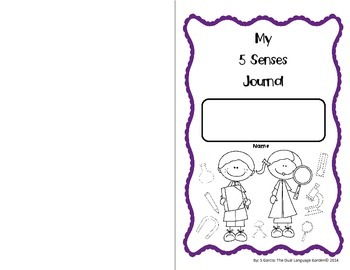 Interactive Science Journals for Kindergarten/1st:  Entire Year!! (English)