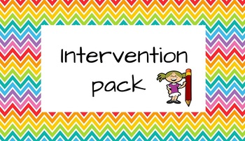 English Intervention Pack for teaching assistants and teachers