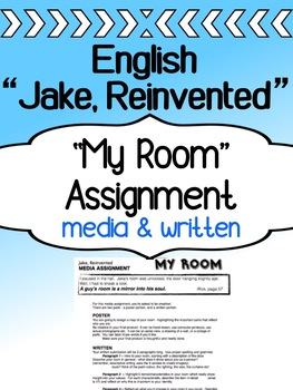 English - Jake, Reinvented - My Room Assignment