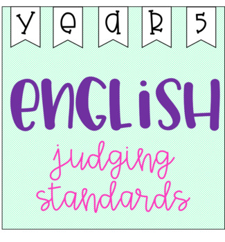 English Judging Standards - Year 5