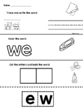 English Kn. High Frequency Word Building