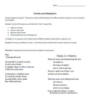 English Language Arts - 25 + Poetry Activities for Middle School