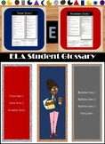 English Language Arts Quick Glossary Student Reference