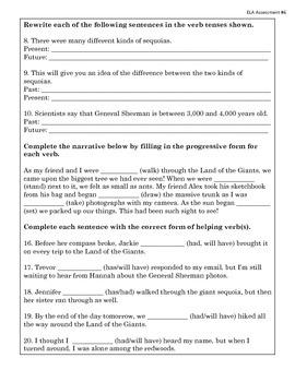 English Language Arts Assessment