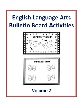 English Language Arts Bulletin Board Activities Volume 2