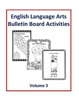 English Language Arts Bulletin Board Activities Volume 3
