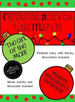 English Language Arts Christmas Fun! Featuring a Christmas Movie Activity