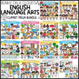 English Language Arts Clipart Mega Bundle by Bunny On A Cloud