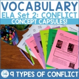 English Language Arts Concept Capsules = Set 2: Conflict