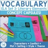 English Language Arts Concept Capsules | Set 3: Story Elements