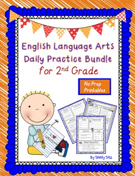 Language Arts Daily Practice for Second Grade--Full Year