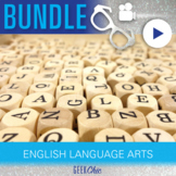 English Language Arts ELL ESL Video & Activities Bundle