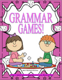 Spring Summer Review Distance Learning Grammar Games  Printables! Grades 2 - 4