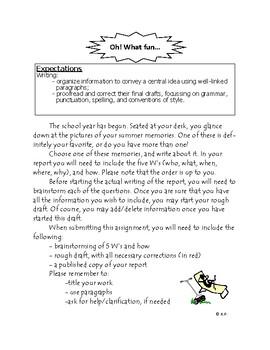 English Language Arts-Oh What Fun!