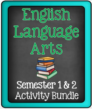 English Language Arts: Semester Writing & Reading Bundle