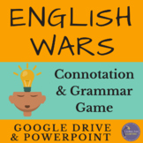 English Language Arts Final Exam Review Game for Google Drive & PowerPoint