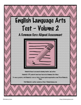English Language Arts Test - Volume 2