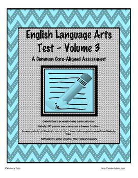 English Language Arts Test - Volume 3