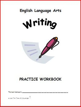 English Language Arts Writing Practice Workbook