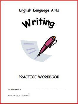 English Language Arts Writing Practice Workbook