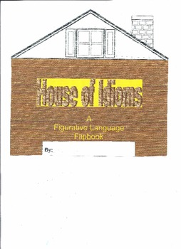 "English Language Learner  ""House of Idioms"" Flip-book""(Spanish Version)"