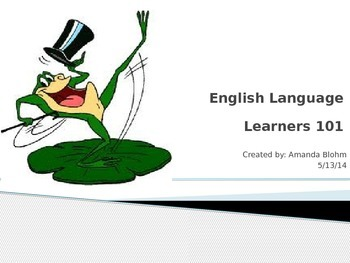 English Language Learners 101
