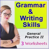 English Language Learners Grammar Worksheets