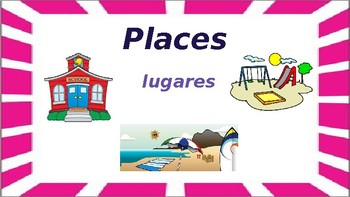 English Language Learners- Places and People (interactive)