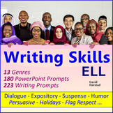 English Language Learners Worksheets: 403 Writing Prompts