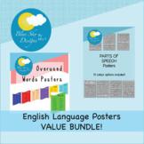 English Language Posters VALUE BUNDLE!