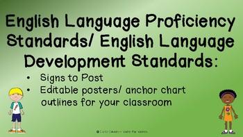 English Language Proficiency/ Development Standards