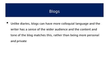 English Language, Writing, Grammar, Punctuation