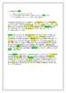 English Language history writing task - irregularities in the spelling system