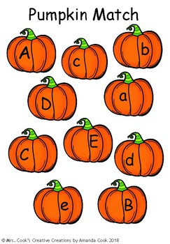 English Lesson (Aa-Zz) Pumpkin Match (Full Version)