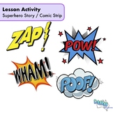 English - Lesson Activity - Superhero Creative Writing