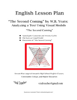 """English Lesson Plan: """"The Second Coming,"""" W.B. Yeats, the"""