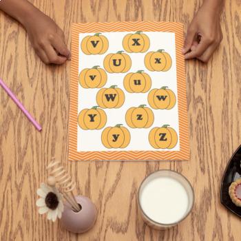 English Lesson Pumpkin Match