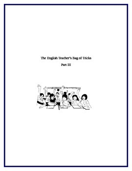 English Lessons for Any Text III