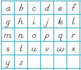 English Letter Tiles