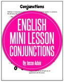 English Literacy Mini Lesson: Conjuctions Fanboys